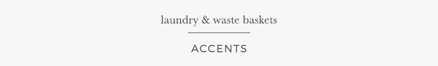 laundry & wastebaskets