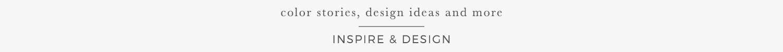 inspire & design